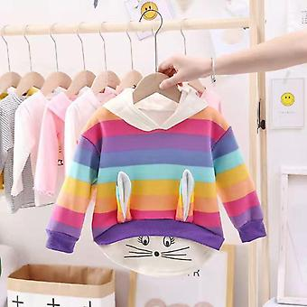 Autumn Winter Warm Sweater Baby Plus Velvet Thicken Outfit Clothes