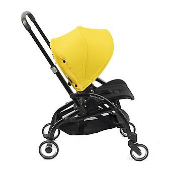 One-piece Fold Two Facing Baby Stroller With Reversible Seat