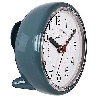 אטלנטה 4454/6 שעון קיר שעון חדר אמבטיה שעון קוורץ אנלוגי בנזין עם יניקה