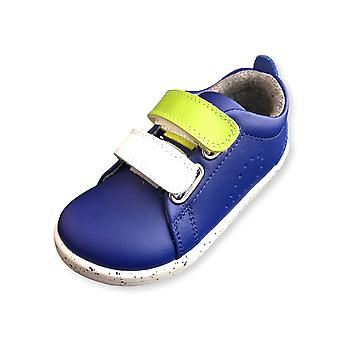 Bobux i walk grass court switch blueberry trainer shoes