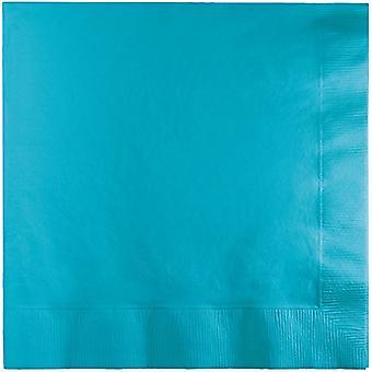 Bn 12/20Ct 2P Bermuda Blue Napkin