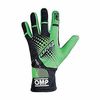 Mænds kørehandsker OMP MY2018 Grøn (Størrelse M)