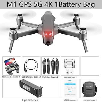 2021 Nouveau m1 pro drone hd mécanique 2 axes gimbal camera 4k hd camera 1.6km control distance 5g wifi gps system supports tf card