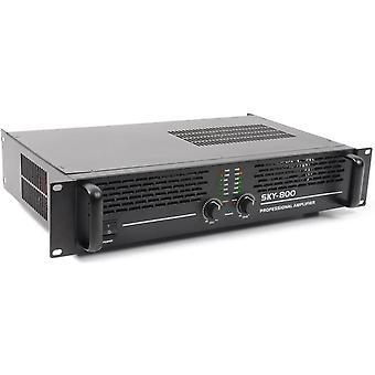 Wokex Sky-800MKII PA-Verstärker PA-Endstufe mit pegelfesten 800 Watt (brückbar