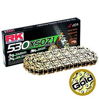 Cadena RK GB530XSOZ1 130 Oro 530XSO Z1GOLD X 3012370RK RK530XSO RK530X 50vxg