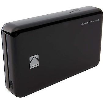 Mini 2 HD Wireless Mobile Instant Fotodrucker w / 4 Pass patentierte Drucktechnologie (Schwarz) -