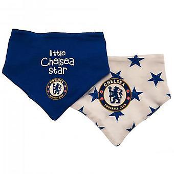 Chelsea 2 Pack Śliniaki ST