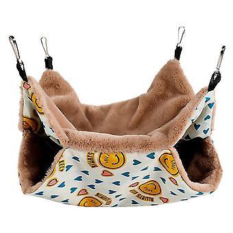 Lächeln 20 * 20cm Haustier Hängematte, Eichhörnchen Hamster hängen Schlafsack az20900