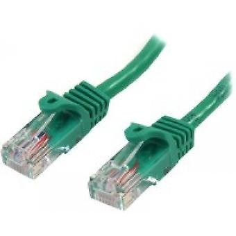 StarTech 45PAT5MGN 5m Cat5e U/UTP (UTP) Green networking cable