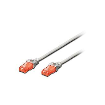UTP Category 6 Rigid Network Cable Ewent EW-6U-020 RJ45 Grey