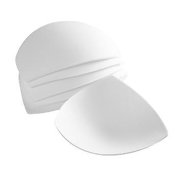 Hvit 3/4/6 par kvinner avtagbare smart kopper BH setter pads for badetøy / sport dt4204