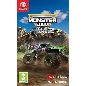 Monster Jam Steel Titans 2 Nintendo Switch Game