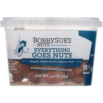 Bobby Sues Nødder Nødder Mix Alt, tilfælde af 16 X 3,5 Oz
