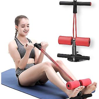 Portable Sit Up Assistant Device,ab Exercise Machine(Red)