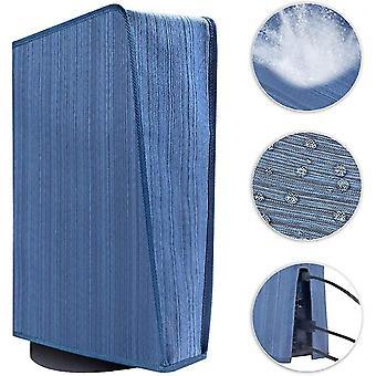 Tampa de pó premium para Ps5 Sony Resistente a arranhões, impermeável (azul)