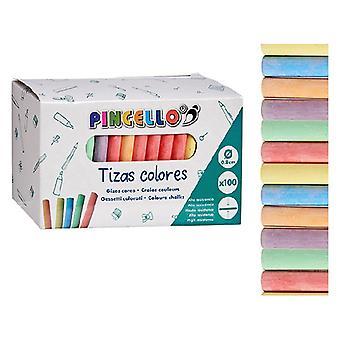 Tizas Colores Arcilla (100 uds)