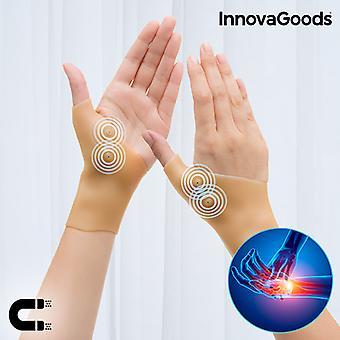 InnovaGoods Soporte de muñeca de compresión magnética (Pack de 2)