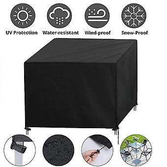 Mimigo Patio Furniture Cover, Outdoor Table Set, Sectional Sofa Cover, Patio Chair Coversuv Resistant, Waterproof For Outside Furniture Black 10 Sizes