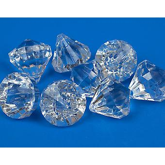 8 Premium 30mm Clear Hanging Crystals - Acryl Kroonluchter Hangers