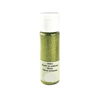 20ml lime grønn ekstra fint håndverk glitter for håndverk