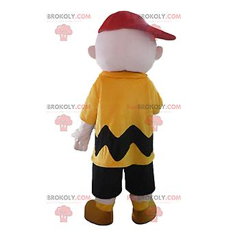 Maskottchen REDBROKOLY.COM von Charlie Brown, berühmte Snoopy-Figur