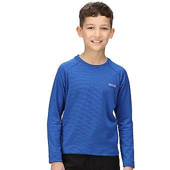 Regatta Boys Samley Wicking Quick Dry Long Sleeve T Shirt