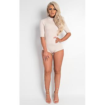 IKRUSH Femei Maile Scoop Back Bodysuit