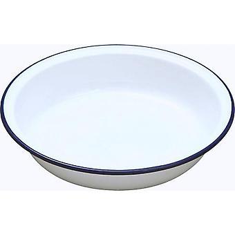 Falcon Pie Dish Round - Traditionell vit 20cm x 4D