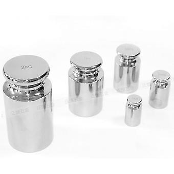 15pcs Calibration Weight Set With Box Total 6110g Weight Precision Balance Scale