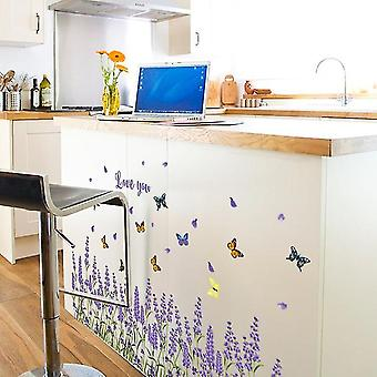 Warm Lavender Wall Stickers