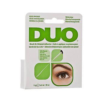 Duo Brush On Strip & Individual False Eyelash Long Lasting Clear Adhesive Glue