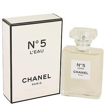 Chanel no. 5 l'eau eau de toilette spray by chanel 534916 50 ml