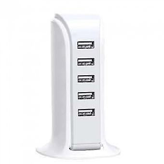 Charger Base Amazon 5 Port Sailboat Charger 5usb Base Desktop Charging Stand Creative Multi-port Charge