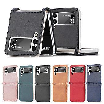 Geeignet für Samsung Galaxy Z Flip 3 5g Pc Phone Case / Multicolor Matte Phone Case (steckbare Karte)