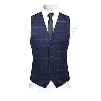 ميل الرجال منقوشة سترة بدلة واحدة الصدر، عارضة سليم صالح اللباس 4 زر صدرية سترة
