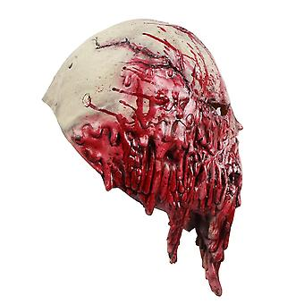 Latex Mask, Novelty, Halloween Costume, Ghost Theme, Skull, Blood Tentacles, Red Mask