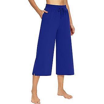 Women High Waist Yoga Pants Casual Drawstring Straight Leg