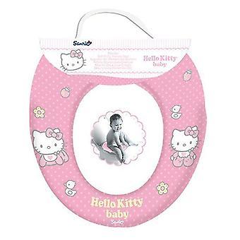 Zachte gepolsterde Hello Kitty Kids zindelijkheidstraining Toilet Seat WC kind peuter