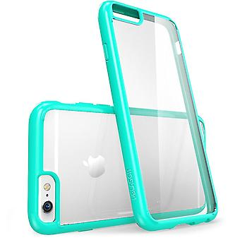 Apple iPhone 6 / 6S Plus 5.5 Case - i-Blason, Halo Scratch Resistant Case -Clear/Green