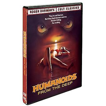 Humanoidit päässä Deep [DVD] USA tuonti