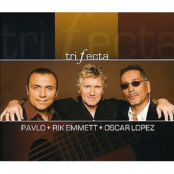 Pavlo / Emmett, Rik / Lopez, Oscar - Trifecta [CD] USA import