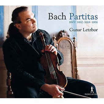 Bach / Letzbor - Partitas Bwv 1002 1004 & 1006 [CD] USA import