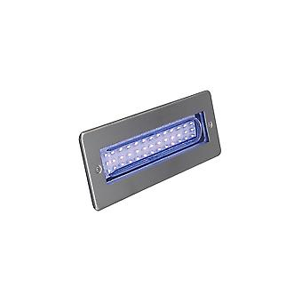 Ansell Libretto LED Bricklight blauw 2W LED RVS
