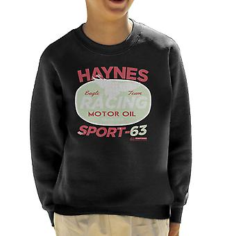 Haynes Eagle Team Racing Motor Oil Kid's Sweatshirt