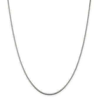 925 Sterling Silver 1.75mm Box Chain Necklace Jewelry Gifts for Women - Length: 16 to 36