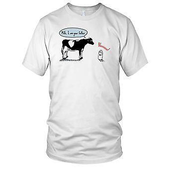 Grappige Mens T Shirt van de oorlogen van de melk ik ben je vader-ster