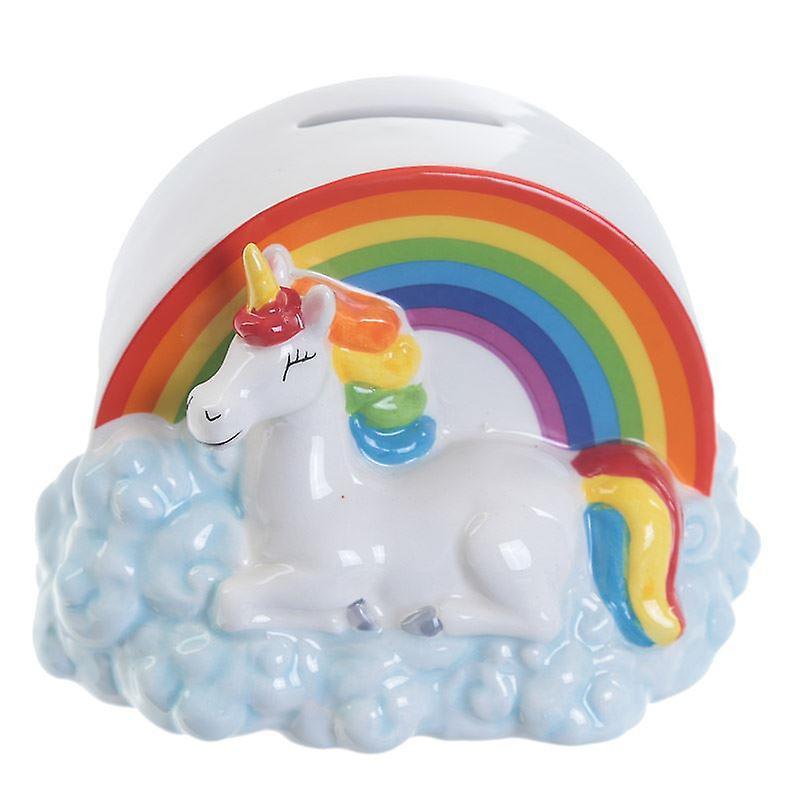 Enchanted Rainbows Unicorn Money Box