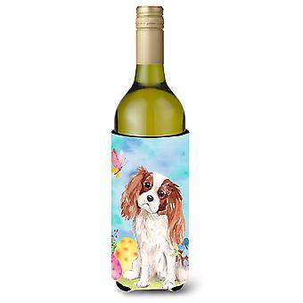 Cavalier Blenheim Spaniel Páscoa garrafa de vinho Beverge isolador Hugger