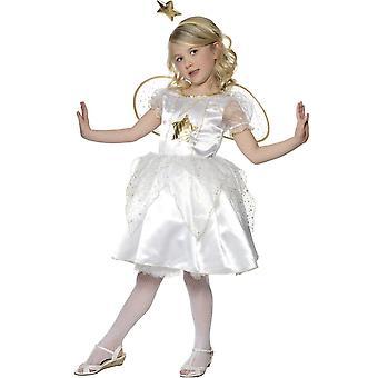 Kinder Kostüme weiße Fee Engel Kostüm