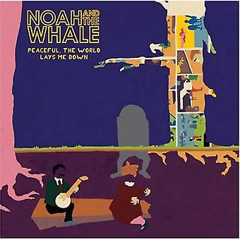 Noah & the Whale - Peaceful the World Lays Me Down [CD] USA import